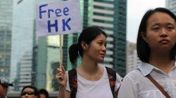 香港デモ、「真の普通選挙」求める 511人拘束、高まる反中国感情