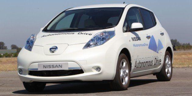自動運転車、日産が2020年までに発売