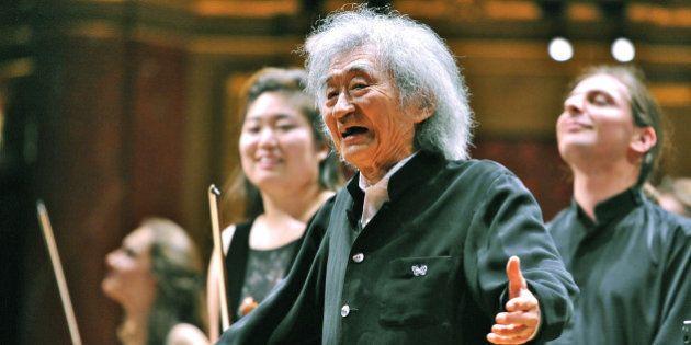 小澤征爾さん、3年ぶり海外公演 気迫の指揮、ヨーロッパの聴衆を魅了