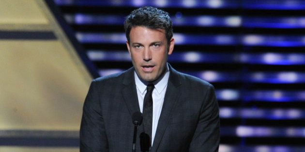 LOS ANGELES, CA - JULY 17: Actor Ben Affleck onstage to present Jimmy V award at the 2013 ESPY Awards...