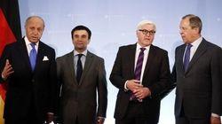 ウクライナ4カ国会談、親ロ派含む停戦協議開催で合意