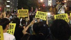 【集団的自衛権】官邸前で抗議デモ 閣議決定反対で深夜まで(動画・画像)