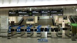 【台風情報】19号接近で大阪駅から人が消える USJも「貸し切り状態」に(画像)