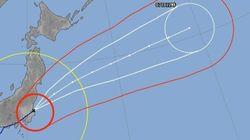 台風18号、首都圏を北上 茨城沖へ抜ける【UPDATE】