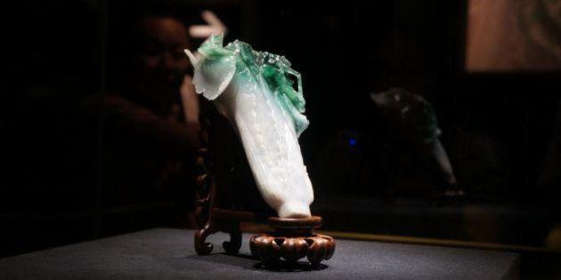 故宮博物院展「翠玉白菜」が大人気