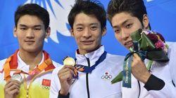 中国の競泳選手「日本国歌は耳障り」発言に、日本の入江と萩野はこう答えた