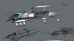 時速1290キロのチューブ列車を発案