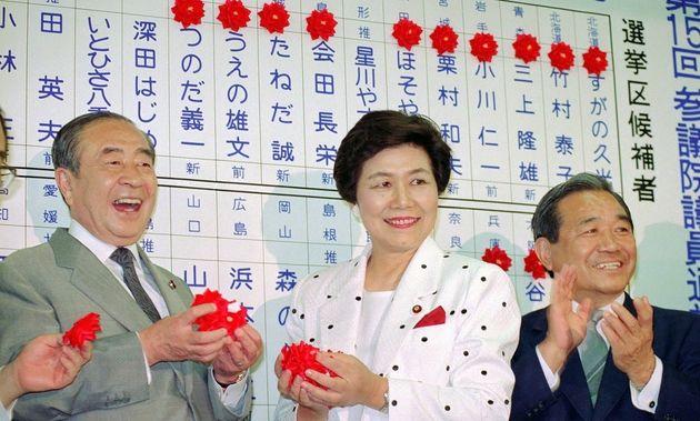土井たか子・元衆院議長が死去 「ダメなものはダメ」で社会党を大勝に導く