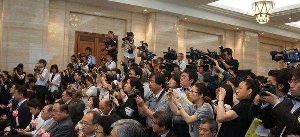 「國立故宮博物院」展が無事に開幕 東京国立博物館長が「國立削除」問題を謝罪