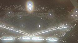 「コミケ雲」が東京ビッグサイトに発生