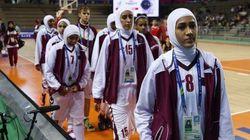 【アジア大会】髪覆うヒジャブ着用禁止、カタールが試合放棄 バスケット女子