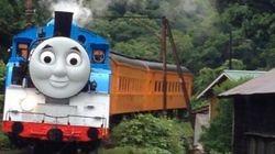 きかんしゃトーマス、満面の笑顔で日本を駆け抜ける【画像】