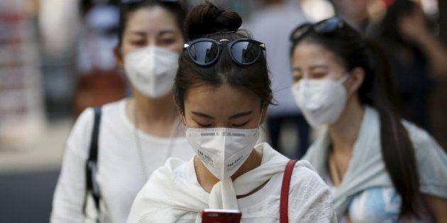 MERS、韓国の感染者が120人を超える 妊婦も感染