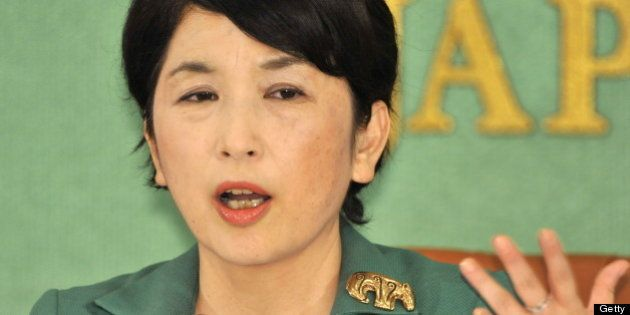 Japan's State Minister in charge of consumer affairs, declining birthrate, food safety and gender equality...