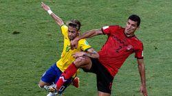 ワールドカップ6日目、ブラジルとメキシコは無得点で引き分ける【画像集】