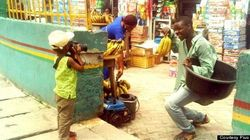 3歳のカメラマンがとらえるナイジェリア(動画と画像)