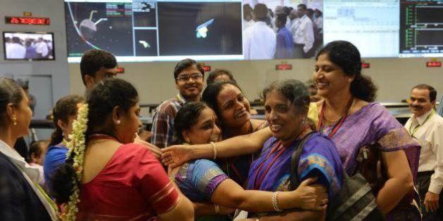 インド探査機、火星軌道に到達 アジア初の快挙、その狙いは