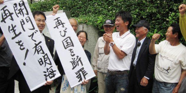 諫早湾干拓、漁業者に強制金支払いへ 「開門しなければ1日49万円」