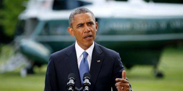 オバマ大統領、イラクへの米軍再派遣を否定 政府支援、数日中に決断