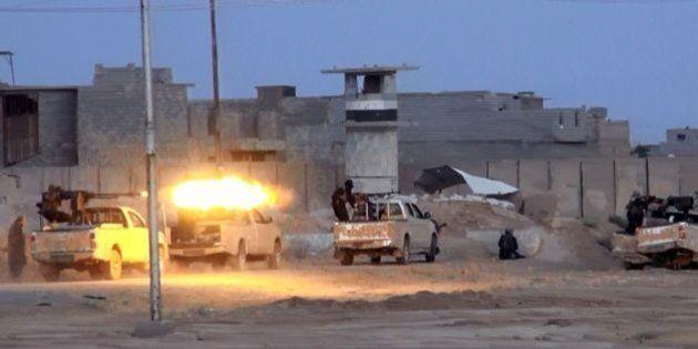 イラク、過激派が首都北方に進攻 治安部隊と交戦