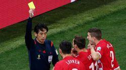 西村雄一主審の判定、FIFAが擁護