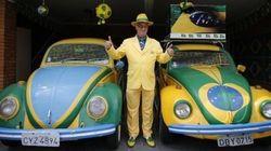 ブラジル優勝のために20年間「カナリア色」生活をした男がすごい(画像)
