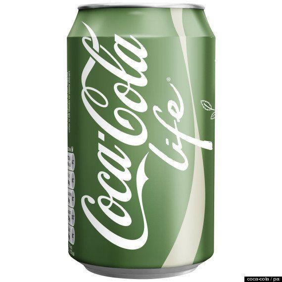 コカ・コーラのラベルが緑色に