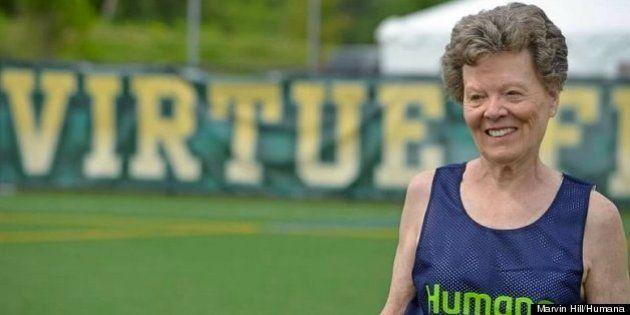 79歳で絶好調、15の陸上世界記録を持つ女性