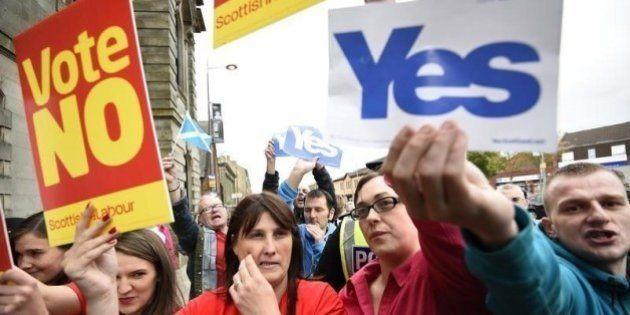 スコットランド独立、浮動票がカギ握る