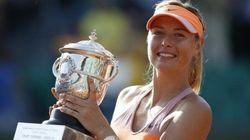 シャラポワが2回目の優勝、全仏オープンテニス