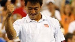 錦織圭、全米オープン4強 出場危機から一転、日本男子96年ぶりの快挙