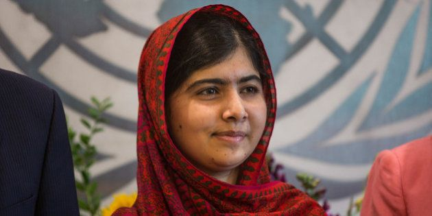NEW YORK, NY - AUGUST 18: Malala Yousafzai, an education and women's rights activist, meets with United...