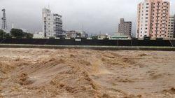 札幌中心部の豊平川が増水「やばいから近づかない方がいいぞ!」【画像】