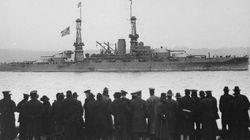 悲しみにくれる夫婦、戦艦を見つめる群衆、第一次世界大戦の記録写真が胸に迫る【画像】