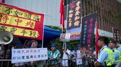 香港行政長官選挙で中国が民主派締め出し、中心部では抗議集会
