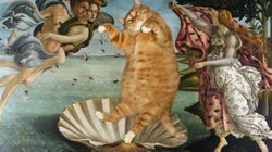 名画には太っちょ猫がよく似合う【画像集】