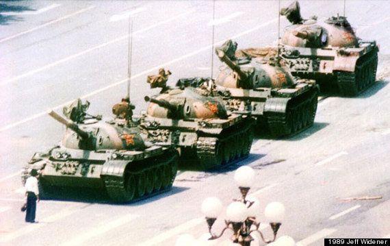 天安門事件から25年 進まない人権問題【画像集】