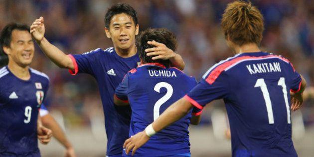 サッカー日本代表、キプロスに1...
