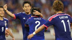 サッカー日本代表、キプロスに1-0で勝利【画像集】