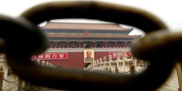 Google、中国で接続不能 天安門事件25年を前に