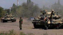 ウクライナ領内にロシア軍部隊が1000人以上進入か