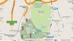 明治神宮で蚊に刺されデング熱感染の疑い 代々木公園とどれくらい近い?【地図】