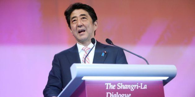 安倍首相が靖国参拝発言、会場から賛同の拍手 アジア安保会議