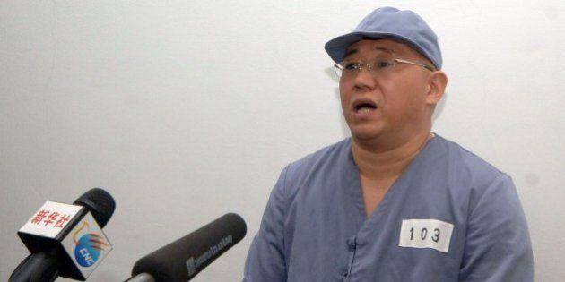 北朝鮮が拘束した3人のアメリカ人、TVで助け求める