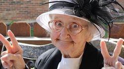 がんと闘う80歳のおばあちゃんが本当にチャーミング!【画像】