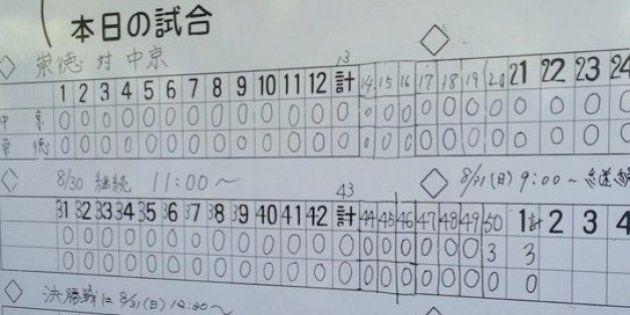延長50回で決着、中京が3-0で崇徳を破る 両エース完投【軟式高校野球】