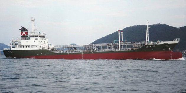 【タンカー爆発炎上】姫路港沖で「聖幸丸」 船長が行方不明、4人けが