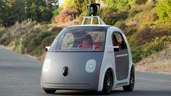 Google、運転席のない自動運転車を開発【画像】