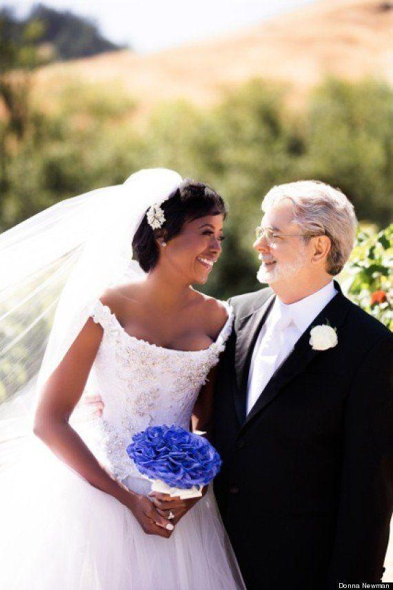 ルーカス監督、44歳の女性実業家と再婚