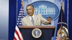 イスラム国の「イラク制圧」阻止に重点 オバマ大統領、ロシアへ制裁強化も
